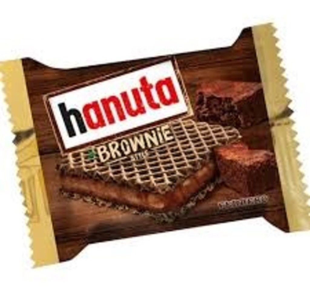 Wafer Hanuta Brownie 22g