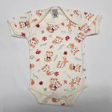 Body Estampado Suedine Ginho Baby