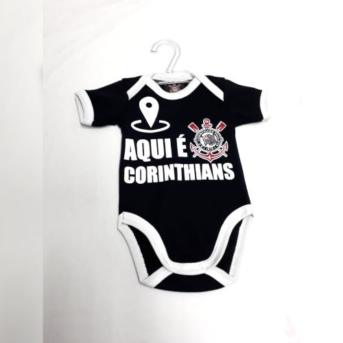 Body Manga Curta Corinthians