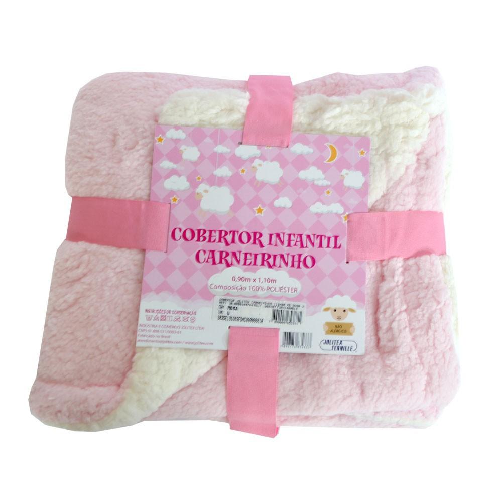 Cobertor Infantil Carneirinho