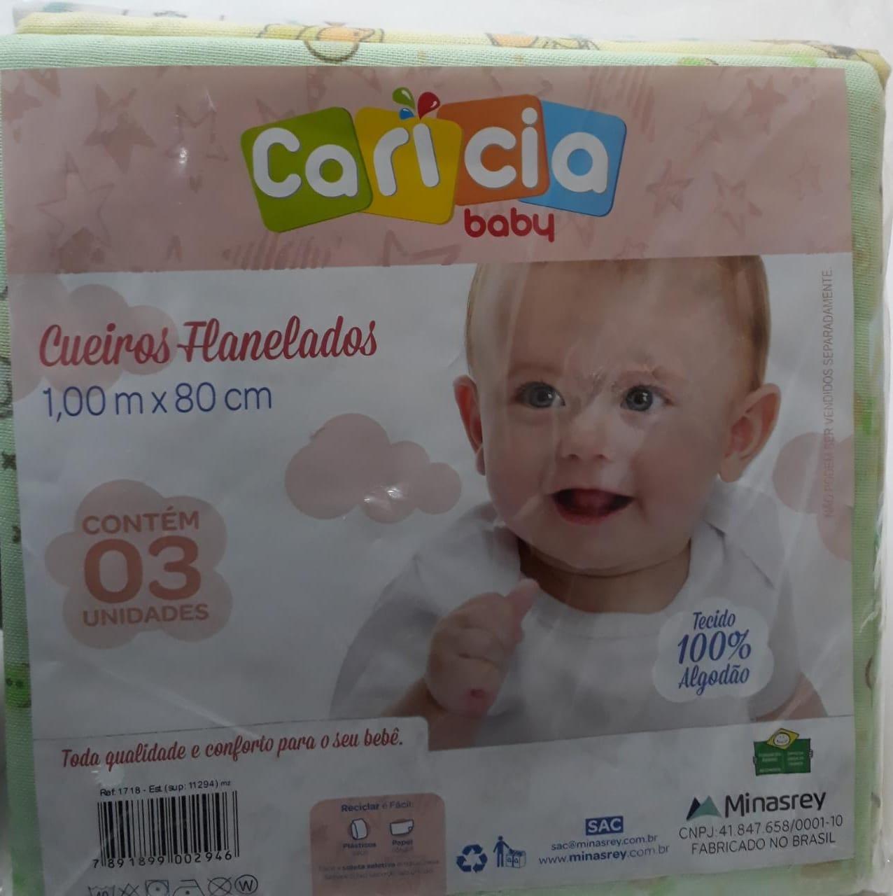 Kit Cueiro Flanelado Cáricia