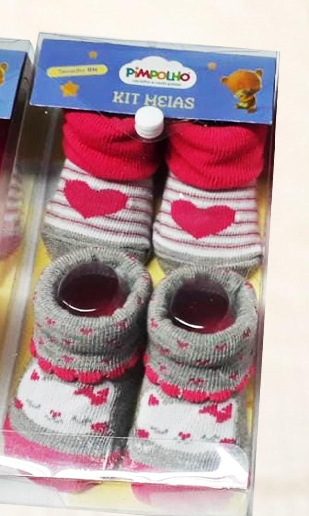 Kit meias Pimpolho