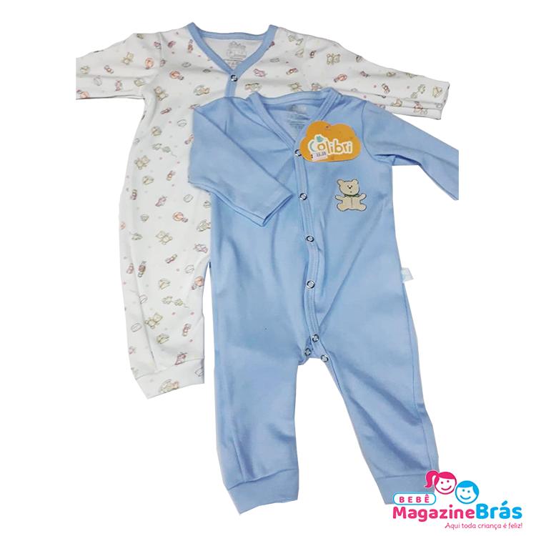 Kit Pijama Macacão