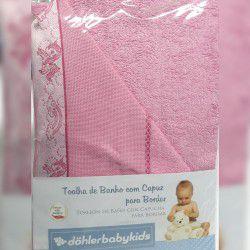 Toalha de Banho c /Capuz Dohler