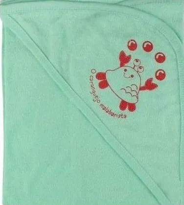 Toalha de Banho Estampada com Capuz