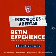 BETIM EXPERIENCE - IMERSÃO NO FUTEBOL PROFISSIONAL