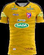 Camisa Of. Betim Futebol Goleiro Amarelo Feminina