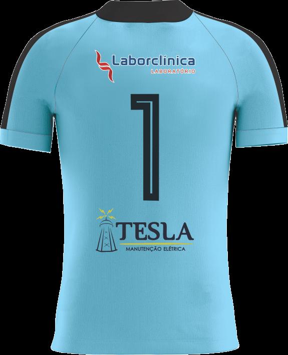 Camisa Of. Betim Futebol Goleiro Azul Masculina