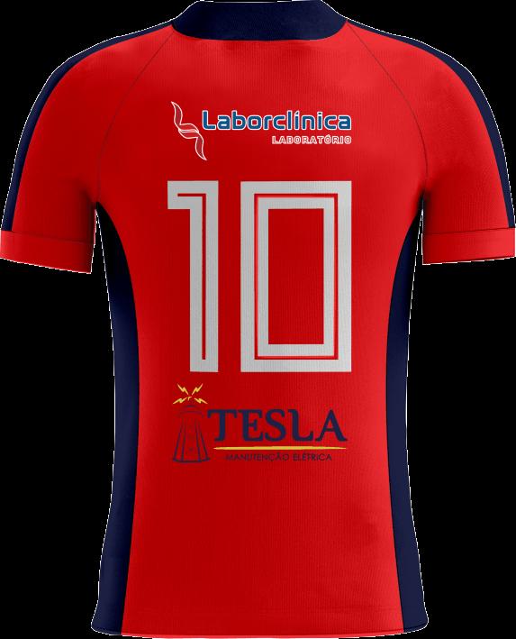 Camisa Of. Betim Futebol Jg2 Vermelha Infantil
