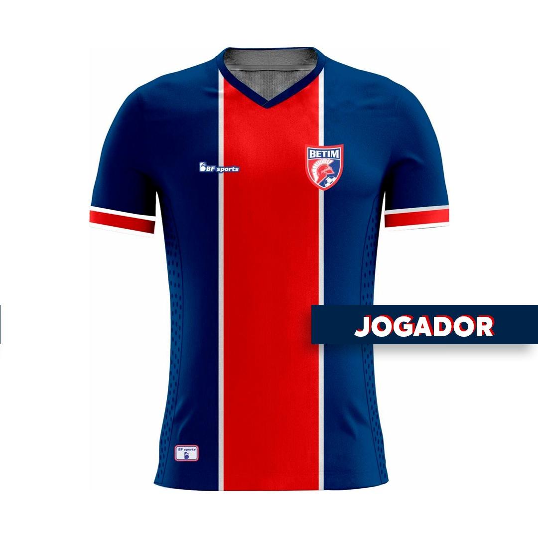 Camisa Of. Betim Futebol Mod.1 JOGADOR Feminina 2021