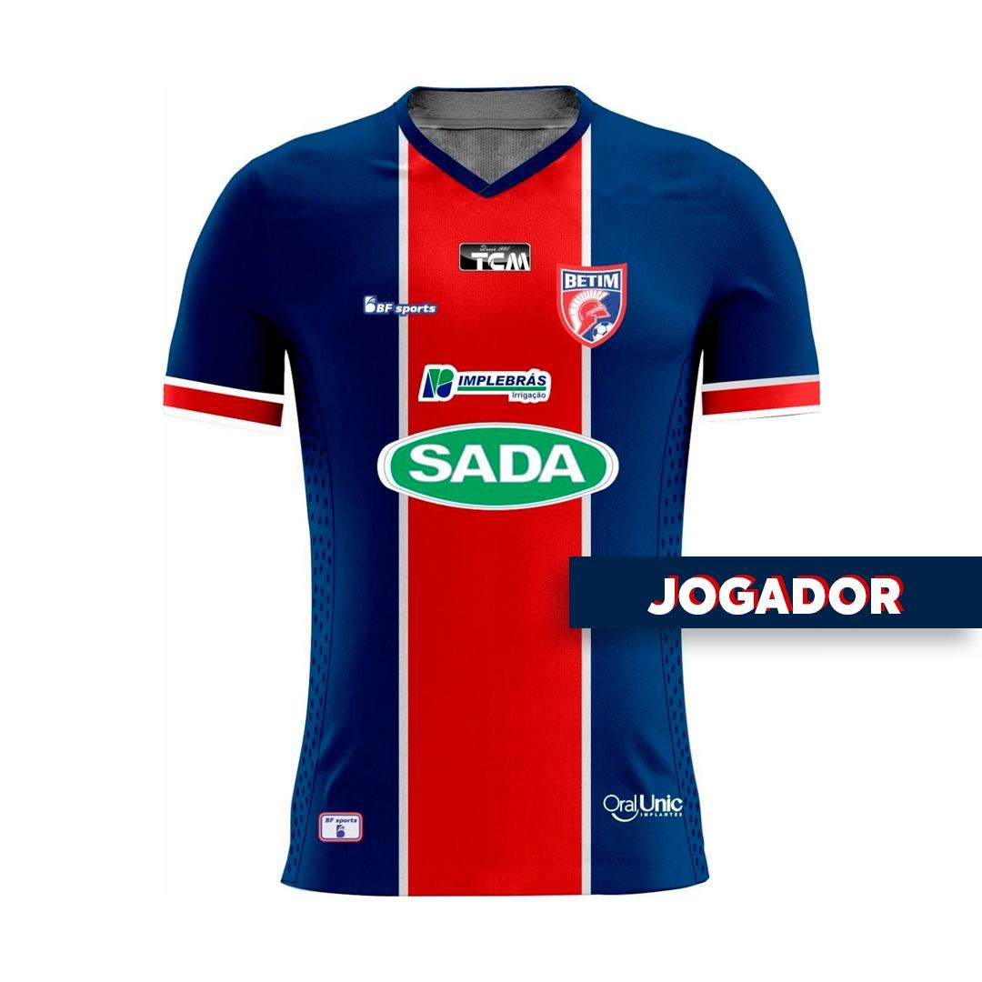 Camisa Of. Betim Futebol Mod.1 JOGADOR Infantil 2021