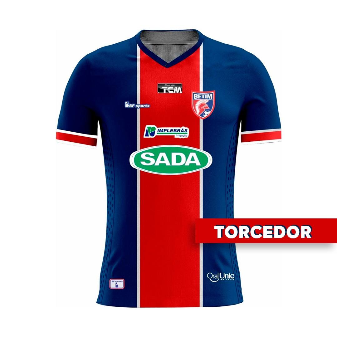 Camisa Of. Betim Futebol Mod.1 TORCEDOR Feminina 2021