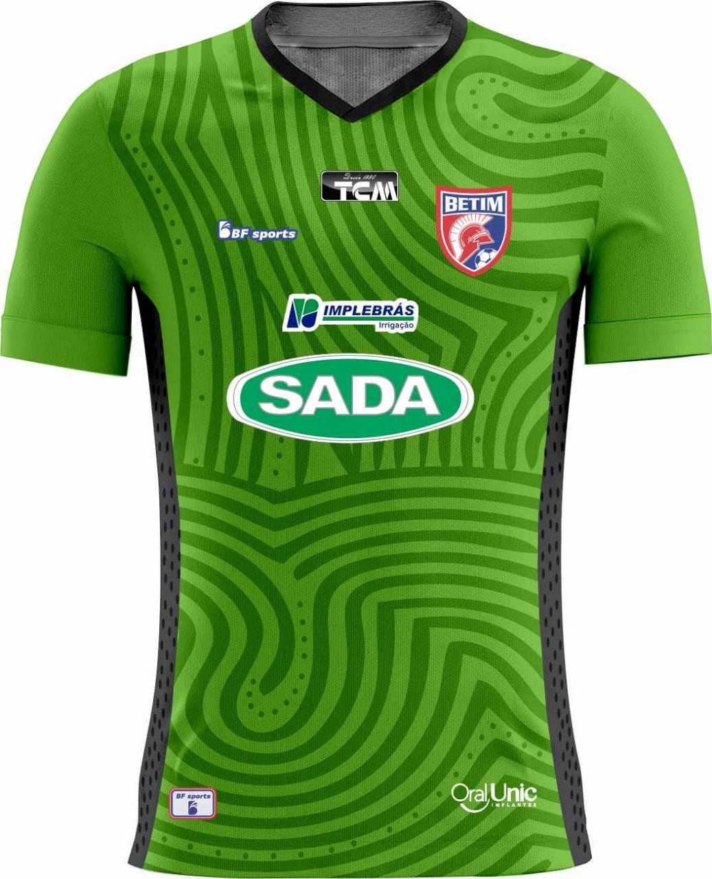 Camisa Of. Betim Futebol Mod.1GOLEIRO Infantil 2021
