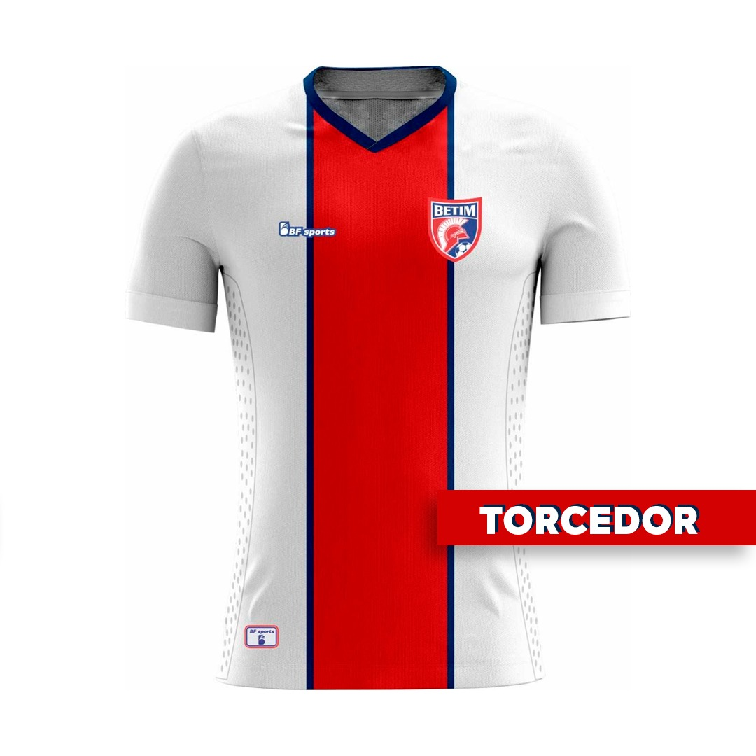 Camisa Of. Betim Futebol Mod.2 TORCEDOR MASCULINO 2021