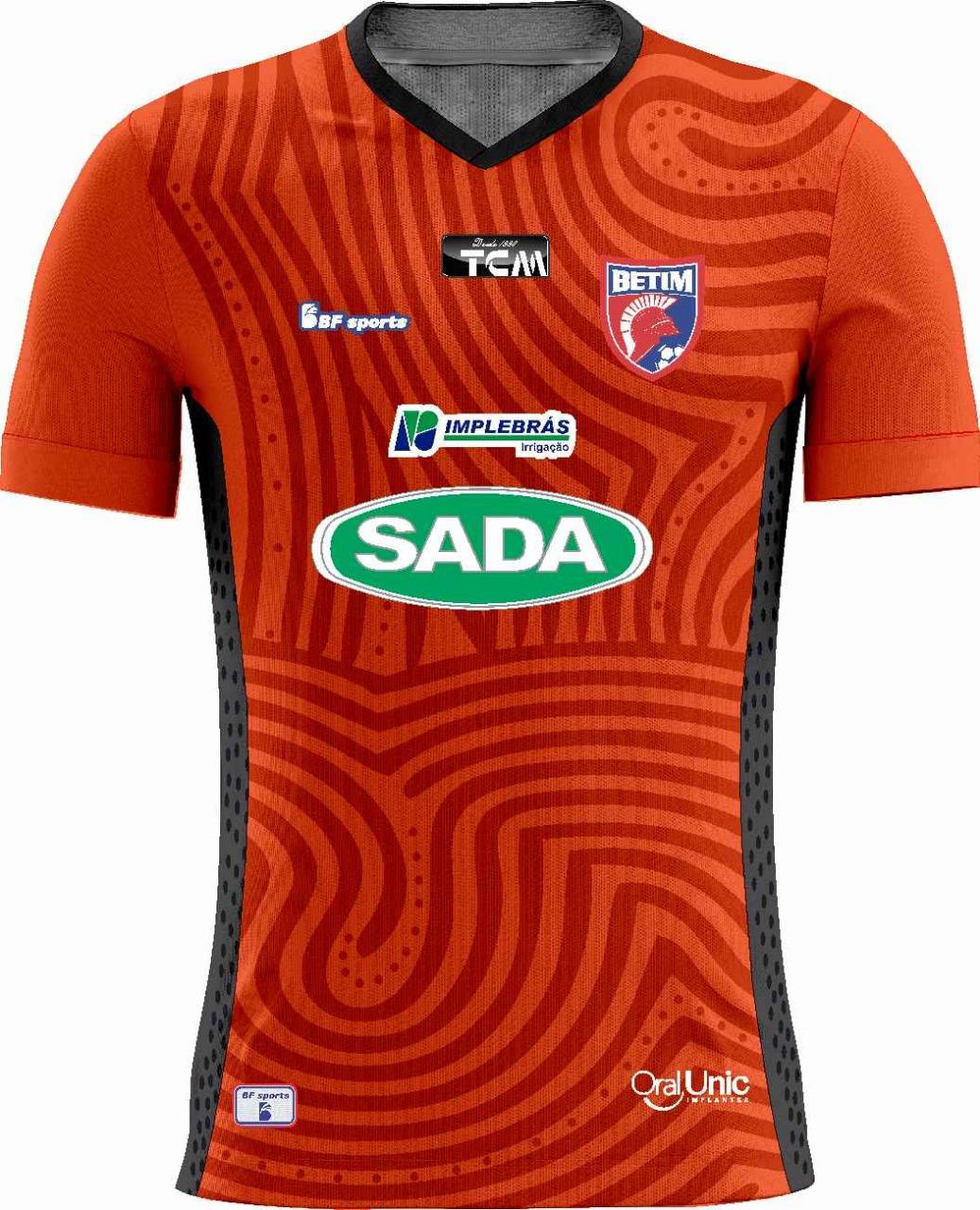 Camisa Of. Betim Futebol Mod2 GOLEIRO Infantil 2021