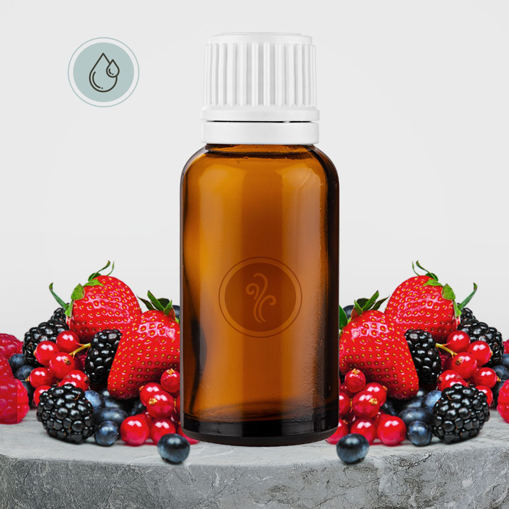 Essência Frutas Vermelhas (Solúvel em Água)