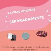 12 POTES DE VIDRO SEXTAVADO 230ML