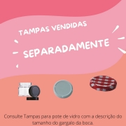 15 POTES DE VIDRO ALCAPARRAS 100ML