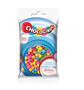 CHOCOGIROS - MINI PASTILHA SABOR CHOCOLATE COLORIDA 70G - MAVALÉRIO