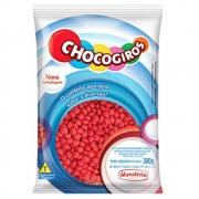 CHOCOGIROS - MINI PASTILHA SABOR CHOCOLATE VERMELHO 300G - MAVALÉRIO