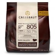 CHOCOLATE AMARGO 50,7% CACAU (805) EM GOTAS 400G- CALLEBAUT