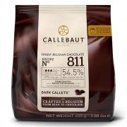 CHOCOLATE AMARGO 54,5% CACAU (811) EM GOTAS 400G - CALLEBAUT