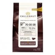 CHOCOLATE AMARGO 70,5% (70-30) EM GOTAS 2,5KG - CALLEBAUT