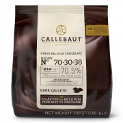 CHOCOLATE AMARGO 70,5%(70-30) EM GOTAS 400G - CALLEBAUT