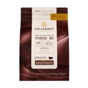 CHOCOLATE AMARGO 80% CACAU (POWER 80) 2,5 KG - CALLEBAUT