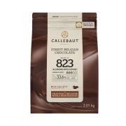 CHOCOLATE AO LEITE 33,6% CACAU (823) EM GOTAS 2,01 KG - CALLEBAUT