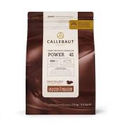CHOCOLATE AO LEITE 40,7% CACAU (POWER 41) 2,5 KG - CALLEBAUT