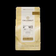 CHOCOLATE BRANCO 28% (W2) EM GOTAS - 1KG - CALLEBAUT