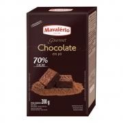 CHOCOLATE EM PÓ 70% CACAU 200G - MAVALÉRIO