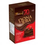CHOCOLATE EM PÓ SOLÚVEL 70% 200GR - DONA JURA