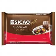 CHOCOLATE SICAO GOLD AO LEITE EM BARRA 2,1KG