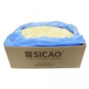 CHOCOLATE SICAO GOLD BRANCO EM GOTAS GRANEL (10KG)