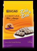 COBERTURA SICAO DIA A DIA MEIO AMARGO GOTAS 2,05KG