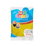 CONFEITO MIÇANGA AMARELO N°00 MIL CORES 500G - MAVALÉRIO