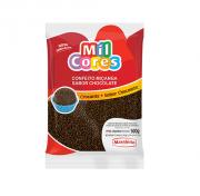CONFEITO MIÇANGA CHOCOLATE N° 107 MIL CORES 500G - MAVALÉRIO