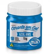 CORANTE GEL 15G AZUL ANIS - MIX