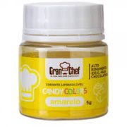 CORANTE LIPOSSOLUVEL - CANDY COLOR AMARELO - 5GR