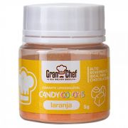 CORANTE LIPOSSOLUVEL - CANDY COLOR LARANJA - 5GR
