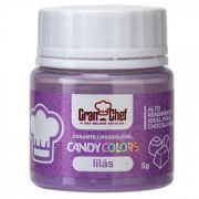 CORANTE LIPOSSOLUVEL - CANDY COLOR LILAS - 5GR