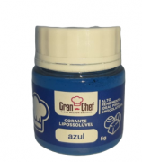 CORANTE LIPOSSOLUVEL PARA CHOCOLATE - AZUL - 5GR