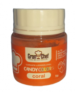 CORANTE LIPOSSOLUVEL PARA CHOCOLATE - CORAL 5G