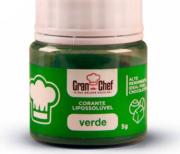 CORANTE LIPOSSOLUVEL PARA CHOCOLATE - VERDE - 5GR