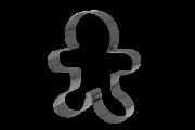 Cortador Boneco de Gengibre 1 - 6 cm