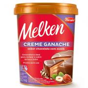Creme Tipo Ganache Chocolate Avelã Melken 1kg