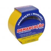FITA DEMARCAÇAO DE SOLO 48MMX15M AMARELA C/2RL - DELFIX