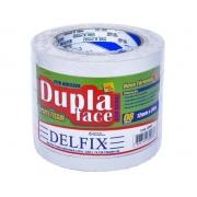 FITA DUPLA FACE TISSUE 12MM X 30M C/8RL - DELFIX